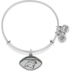 Women's Carolina Panthers Alex and Ani Silver Logo Bracelet found on Bargain Bro from nflshop.com for USD $24.32