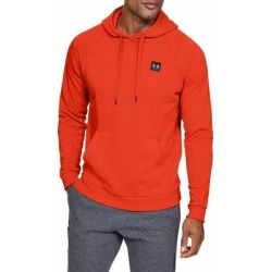 Under Armour Mens Sweater Red Size Small S Front Pocket Fleece Hooded (S), Men's found on Bargain Bro Philippines from Overstock for $26.97