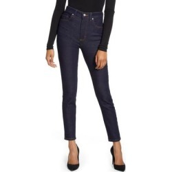 High Waist Skinny Jeans - Blue - Lee Jeans Jeans found on MODAPINS from lyst.com for USD $98.00