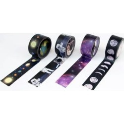 Suck UK Tape Dispensers - Space Washi Tape Roll - Set of Four found on Bargain Bro from zulily.com for USD $7.20