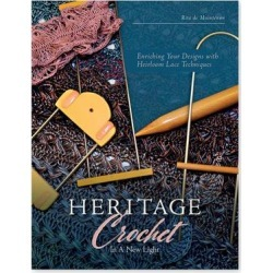 Schiffer Publishing Educational Books - Heritage Crochet in a New Light Paperback found on Bargain Bro from zulily.com for USD $9.87