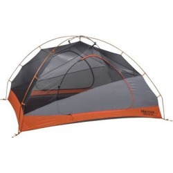 Marmot Backpacking Tents Tungsten Tent - 3 Person Blaze/Steel One Size Model: 29200-9366-ONE found on MODAPINS from campsaver.com for USD $324.00