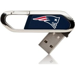 New England Patriots Solid Clip USB Flash Drive found on Bargain Bro from nflshop.com for USD $18.99