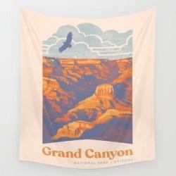 Wall Hanging Tapestry | Grand Canyon National Park by Waynem - 51