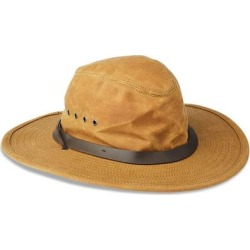 Tin Cloth Bush Hat - Brown - Filson Hats found on MODAPINS from lyst.com for USD $75.00