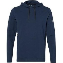 Adidas Men's Lightweight Hooded Sweatshirt (L - Collegiate Navy), Blue, Nike(cotton, Solid) found on Bargain Bro Philippines from Overstock for $59.99