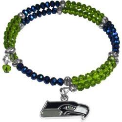 Women's Seattle Seahawks 400 Degrees Crystal Bracelet found on Bargain Bro from nflshop.com for USD $22.79