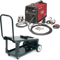 Lincoln Power MIG 180C MIG Welder Pkg. with Economy Cart found on Bargain Bro India from weldingsuppliesfromioc.com for $1515.00