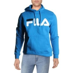 Fila Fiori Men's Fleece Lined Logo Print Lifestyle Hoodie found on Bargain Bro from Overstock for USD $23.36