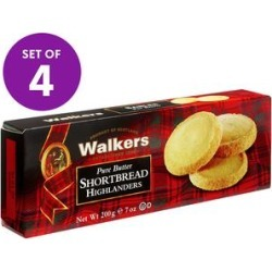 Walkers Shortbread Cookies - Highlander Shortbread Cookies - Set of 4 Packs found on Bargain Bro Philippines from zulily.com for $22.99