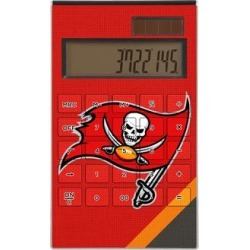 Tampa Bay Buccaneers Diagonal Stripe Desktop Calculator found on Bargain Bro India from nflshop.com for $29.99