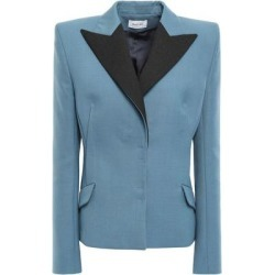 Suit Jacket - Blue - Mugler Jackets found on MODAPINS from lyst.com for USD $287.00