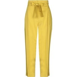 Casual Pants - Yellow - Marella Pants found on Bargain Bro from lyst.com for USD $50.92