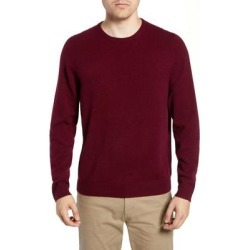 Cashmere Crewneck Sweater - Red - Nordstrom Knitwear found on Bargain Bro from lyst.com for USD $41.80