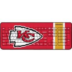 Kansas City Chiefs Stripe Wireless Keyboard found on Bargain Bro from nflshop.com for USD $45.59