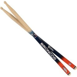 Denver Broncos Woodrow Guitar Drum Sticks found on Bargain Bro Philippines from Fanatics for $22.99
