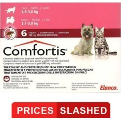 Comfortis For Medium Cats 6-12 lbs (270mg) 12 Chews found on Bargain Bro Philippines from Canadapetcare.com for $112.79
