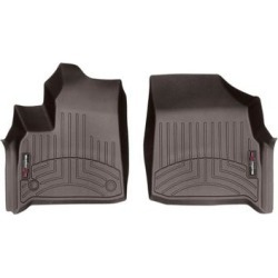WeatherTech Floor Mat Set, Fits 2018-2019 Chevrolet Traverse, Primary Color Brown, Position Front, Model 4712281 found on Bargain Bro from northerntool.com for USD $97.24