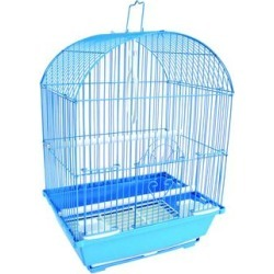 YML Blue Round Top Style Parakeet Cage, 11