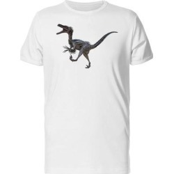 Image Of A Velociraptor Tee Men's -Image by Shutterstock (4XL), White found on Bargain Bro from Overstock for USD $15.95