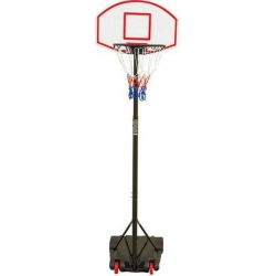 wisdomfurnitureco Basketball Hoop For Portable Height-Adjustable [6.5FT - 8 FT] Sports Backboard System Stand W/Wheels in Red   Wayfair B089DQNXBD found on Bargain Bro Philippines from Wayfair for $136.99