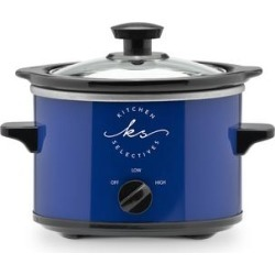 Kitchen Selectives Slow Cookers - 1.5 Qt. Cobalt Blue Slow Cooker found on Bargain Bro India from zulily.com for $12.99