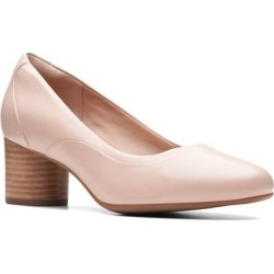 Clarks Un Cosmo Step Pump - Pink - Clarks Heels found on Bargain Bro from lyst.com for USD $95.00
