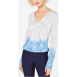 INC Womens Gray Ombre Long Sleeve V Neck Top Size XXL (Gray - XXL), Women's(Rayon, Solid) found on Bargain Bro India from Overstock for $15.98