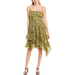 Derek Lam 10 Crosby Asymmetrical Hem Cami Dress (00), Women's, Yellow(cotton) found on MODAPINS from Overstock for USD $43.99