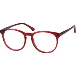Zenni Bold Round Prescription Glasses Red Tortoiseshell Plastic Frame found on Bargain Bro Philippines from Zenni Optical for $25.95