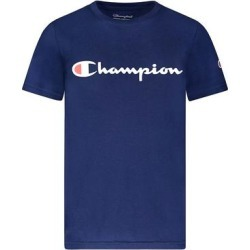 Champion Boys' Tee Shirts NAVY - Navy 'Champion' Classic Script Tee - Toddler & Boys found on Bargain Bro from zulily.com for USD $6.07