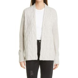 Nordstrom Cable Knit Cashmere Cardigan - White - Nordstrom Knitwear found on Bargain Bro from lyst.com for USD $127.68