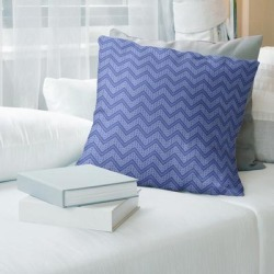 Porch & Den Bayberry Cool Chevron Pattern Throw Pillow found on Bargain Bro from Overstock for USD $41.79