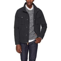 UGG Men's M Cohen Waxed Cotton Jacket, Off Black, S found on Bargain Bro from Overstock for USD $61.37