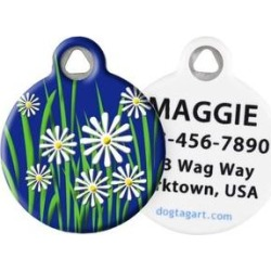 Dog Tag Art Daisy Personalized Dog & Cat ID Tag, Large