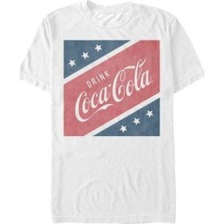 Fifth Sun Men's Tee Shirts WHITE - White US Square Coca-Cola Tee - Men found on Bargain Bro Philippines from zulily.com for $15.99