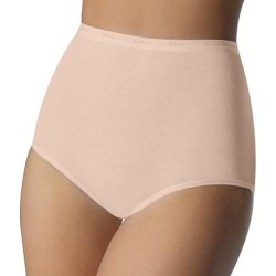 Bali Full-Cut-Fit Brief 2324, Women's, Size: 10, Lt Beige found on Bargain Bro from Kohl's for USD $8.36