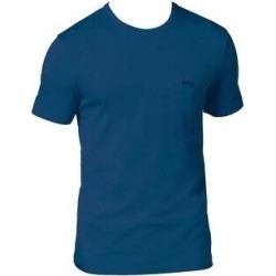 Hugo Boss Men's 50297231 Modern Fit Designer Crew Neck T-Shirt (Blue - XL) found on MODAPINS from Overstock for USD $63.60