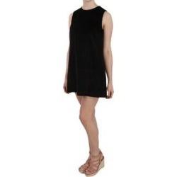 Dolce & Gabbana Black Cotton Sleeveless Shift Mini Women's Dress - it40-s (Black - it40-s) found on Bargain Bro India from Overstock for $775.00
