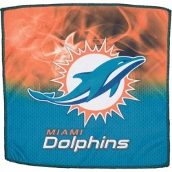 Miami Dolphins 16'' x On Fire Bowling Towel found on Bargain Bro from nflshop.com for USD $18.96