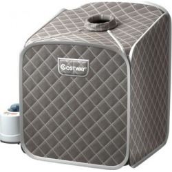 Costway 2L Portable Folding Steam Sauna Spa-Gray found on Bargain Bro Philippines from Costway for $109.95