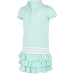 adidas Girls' Casual Dresses MINT - Mint Stripe Logo Ruffle-Hem Shirt Dress - Girls found on Bargain Bro Philippines from zulily.com for $19.99