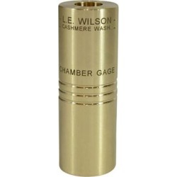 L.E. Wilson Brass Minimum Dimension Chamber Gages - 223 Remington Brass Minimum Chamber Gage found on Bargain Bro Philippines from brownells.com for $46.99