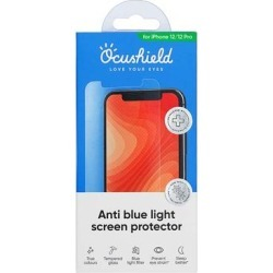 Ocushield Screen Protectors Transparent - Tempered Glass iPhone 12/12 Pro Blue Light Screen Protector found on Bargain Bro from zulily.com for USD $18.99