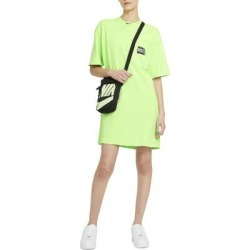 Sportswear Washed T-shirt Dress - Green - Nike Dresses found on Bargain Bro from lyst.com for USD $53.20