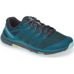 Bare Access Trail Running Shoe - Blue - Merrell Sneakers found on Bargain Bro Philippines from lyst.com for $100.00