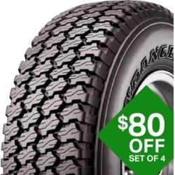 Goodyear Wrangler AT LT195/75R14/C found on Bargain Bro Philippines from samsclub.com for $225.03