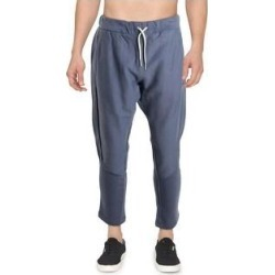 Reebok Mens Jogger Pants Sweatpants Fitness - Washed Indigo (2XL), Men's, Washed Blue(cotton) found on Bargain Bro Philippines from Overstock for $28.09