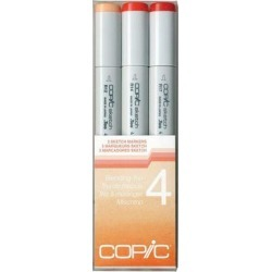 Copic Markers none - Orange Sketch Marker Blending Trio Set found on Bargain Bro India from zulily.com for $15.99