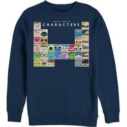 Fifth Sun Men's Pullover Sweaters NAVY - Pixar Navy 'Periodic Table of Characters' Sweatshirt - Men found on Bargain Bro from zulily.com for USD $21.27